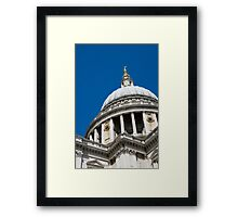 Abstract St Paul's Cathedral. Framed Print