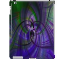 Purple and Green iPad Case/Skin