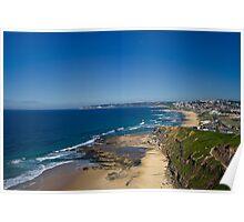 Bar Beach View Poster