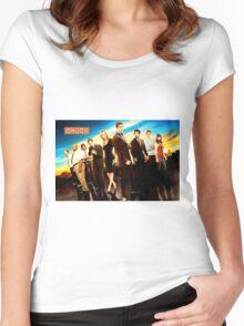 Chuck Cast Women's Fitted Scoop T-Shirt