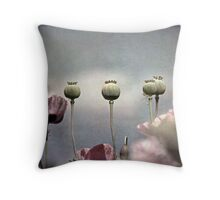 ~ Done and Dusty Pink ~ Throw Pillow