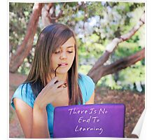 No End To Learning Poster