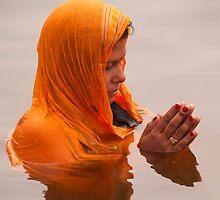 Chhath Puja(Worship to Sun) by Mukesh Srivastava