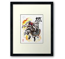 Natsu from Fairy Tale Framed Print