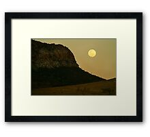South Australia landscape serie 10 Framed Print