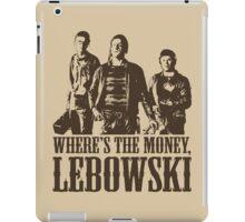 The Big Lebowski Nihilists Where's The Money Lebowski T-Shirt iPad Case/Skin