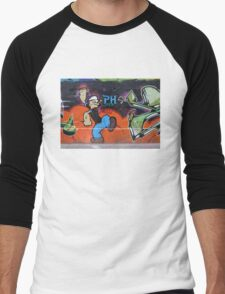 Popeye Graffiti Men's Baseball ¾ T-Shirt
