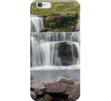 nr Libanus Brecon Beacons Wales UK. Waterfalls at Pont ar Daf. iPhone Case/Skin