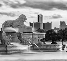 The Lion in Detroit by ReflectPhoto
