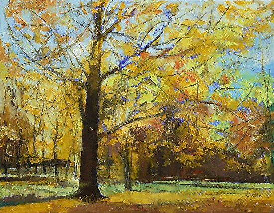 Shades of Autumn by Michael Creese