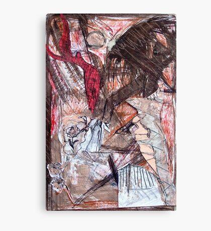 winged perception Canvas Print