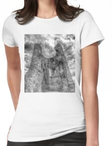 Hadleigh Castle Womens Fitted T-Shirt