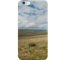 nr Libanus Brecon Beacons Wales UK. View across the moorland of the Beacons, seen from the footpath to Pen y Fan. iPhone Case/Skin