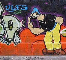 Brutus Graffiti by Mythos57