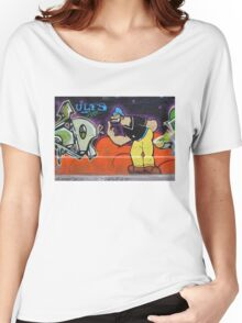 Brutus Graffiti Women's Relaxed Fit T-Shirt
