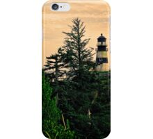 The Washington Cape Disappointment Lighthouse iPhone Case/Skin
