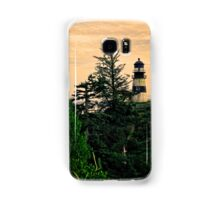 The Washington Cape Disappointment Lighthouse Samsung Galaxy Case/Skin