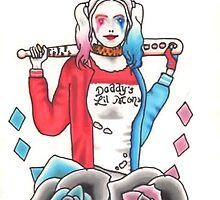 Harley Quinn by hailtothehannah