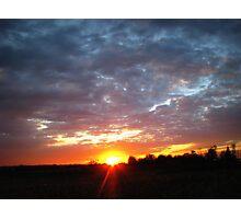 Last Sun Photographic Print
