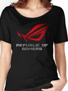 Asus Republic of Gamers Women's Relaxed Fit T-Shirt