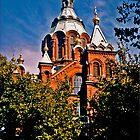 Uspensky Cathedral, Helsinki, FInland by Bryan D. Spellman