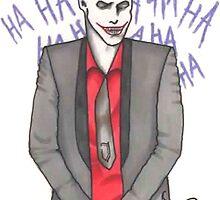 The Clown Prince of Crime by hailtothehannah