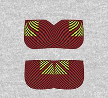 Bra & Panties Optical Illusion Womens Fitted T-Shirt