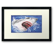 shark2 Framed Print