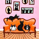 The Cats Pink Room by Ryan Conners