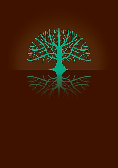 Tree Poster by Naf4d