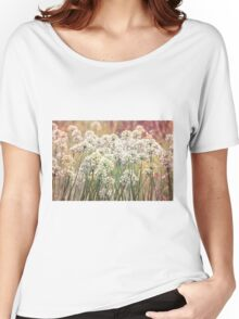 White Women's Relaxed Fit T-Shirt