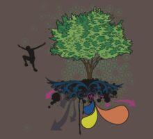 Tree Boy Jumps by hmx23