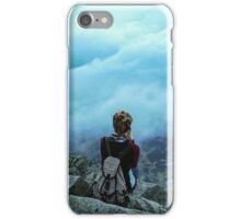 Above the sea of clouds iPhone Case/Skin