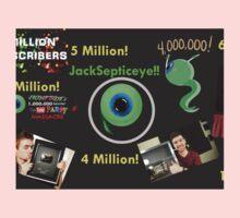 6 Million fanart Jacksepticeye One Piece - Short Sleeve