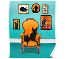 The Black Cat's Room Poster