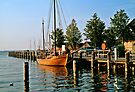MVP78 Zees Boat, Althagen, Ahrenshoop, Germany. by David A. L. Davies