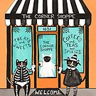 The Halloween Corner Shoppe by Ryan Conners