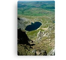 View from Cader Idris looking North, Wales, UK Canvas Print