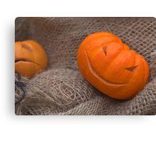 Pumpkin Moods Canvas Print
