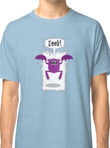 Noisy Little Terrors - 'Eeek!' cartoon character T-shirt Classic T-Shirt
