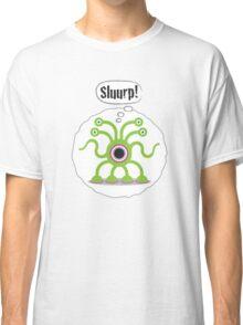 Noisy Little Terrors - 'Sluurp!' cartoon character T-shirt Classic T-Shirt