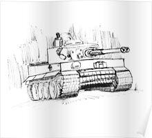 Tiger Tank Poster