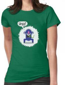 Noisy Little Terrors - 'Urrg!' cartoon character T-shirt Womens Fitted T-Shirt