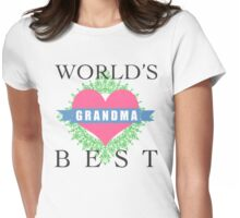 World's Best Grandma Womens Fitted T-Shirt