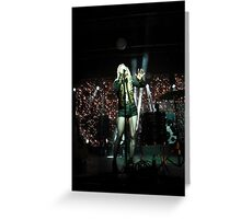 Ellie Goulding Greeting Card