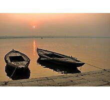 Sunrise at Ganges Photographic Print