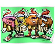 Christmas Cupcakes Poster