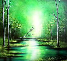 Landscape Artwork By Sherry Arthur  by Sherry Arthur