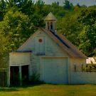 Old Hillsborough Barn by Monica M. Scanlan
