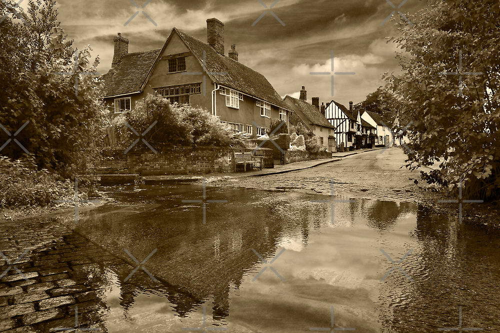 The Ford at Kersey by Geoff Carpenter